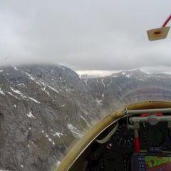 Flugwegposition um 14:23:28: Aufgenommen in der Nähe von St. Ilgen, 8621 St. Ilgen, Österreich in 2044 Meter