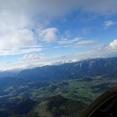 Flugwegposition um 15:38:13: Aufgenommen in der Nähe von Gemeinde Spital am Pyhrn, 4582, Österreich in 2362 Meter