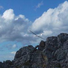 Flugwegposition um 15:10:13: Aufgenommen in der Nähe von Weißenbach an der Enns, Österreich in 2143 Meter