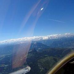 Flugwegposition um 09:04:10: Aufgenommen in der Nähe von Bad Ischl, Österreich in 2425 Meter