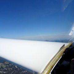 Flugwegposition um 09:04:17: Aufgenommen in der Nähe von Bad Ischl, Österreich in 2417 Meter