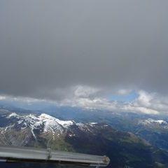 Flugwegposition um 12:45:22: Aufgenommen in der Nähe von Prättigau/Davos, Schweiz in 3600 Meter