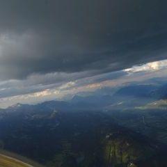 Flugwegposition um 17:35:40: Aufgenommen in der Nähe von Stainach-Pürgg, Österreich in 2589 Meter