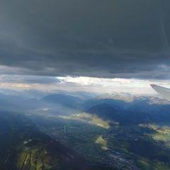 Flugwegposition um 17:35:42: Aufgenommen in der Nähe von Stainach-Pürgg, Österreich in 2591 Meter