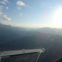 Flugwegposition um 17:50:20: Aufgenommen in der Nähe von Gemeinde St. Pankraz, Österreich in 1641 Meter