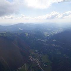 Verortung via Georeferenzierung der Kamera: Aufgenommen in der Nähe von Gemeinde Schottwien, Österreich in 2100 Meter