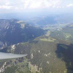Flugwegposition um 13:18:52: Aufgenommen in der Nähe von Gemeinde Bürg-Vöstenhof, 2630, Österreich in 2269 Meter