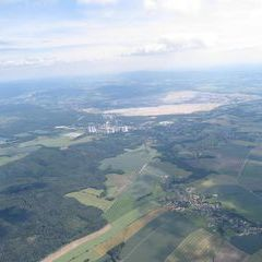 Flugwegposition um 14:01:15: Aufgenommen in der Nähe von Görlitz, Deutschland in 1771 Meter