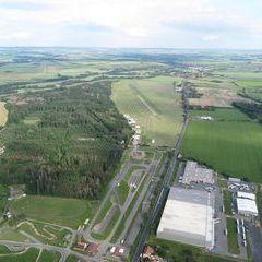 Flugwegposition um 15:58:44: Aufgenommen in der Nähe von Okres Ústí nad Orlicí, Tschechien in 768 Meter