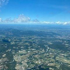 Flugwegposition um 11:04:41: Aufgenommen in der Nähe von Drôme, Frankreich in 1844 Meter