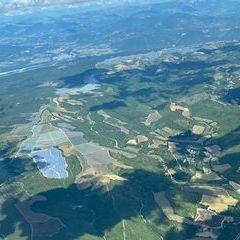 Flugwegposition um 11:49:53: Aufgenommen in der Nähe von Département Alpes-de-Haute-Provence, Frankreich in 1891 Meter