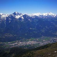 Verortung via Georeferenzierung der Kamera: Aufgenommen in der Nähe von 11020 Quart, Aostatal, Italien in 3000 Meter