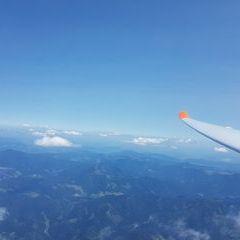 Flugwegposition um 13:15:50: Aufgenommen in der Nähe von Gemeinde St. Lorenzen im Mürztal, St. Lorenzen im Mürztal, Österreich in 3081 Meter