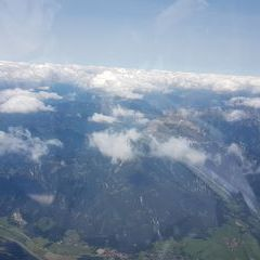 Flugwegposition um 12:56:05: Aufgenommen in der Nähe von Gemeinde St. Stefan ob Leoben, Österreich in 3635 Meter