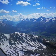 Verortung via Georeferenzierung der Kamera: Aufgenommen in der Nähe von Maloja, Schweiz in 3300 Meter