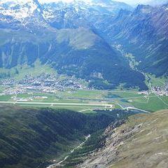 Verortung via Georeferenzierung der Kamera: Aufgenommen in der Nähe von Maloja, Schweiz in 0 Meter