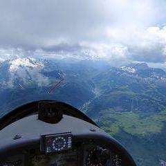 Verortung via Georeferenzierung der Kamera: Aufgenommen in der Nähe von 32020 Livinallongo del Col di Lana, Belluno, Italien in 4000 Meter