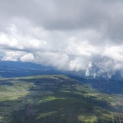 Flugwegposition um 10:31:21: Aufgenommen in der Nähe von Okres Klatovy, Tschechien in 1825 Meter