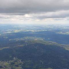 Flugwegposition um 12:56:28: Aufgenommen in der Nähe von Bayreuth, Deutschland in 1968 Meter