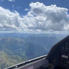 Verortung via Georeferenzierung der Kamera: Aufgenommen in der Nähe von Rottenmann, Österreich in 2800 Meter