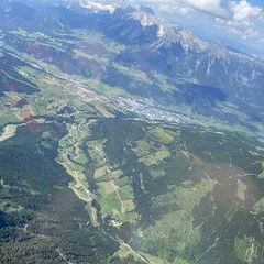Verortung via Georeferenzierung der Kamera: Aufgenommen in der Nähe von Schladming, Österreich in 3100 Meter