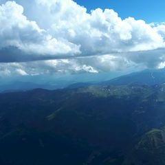 Flugwegposition um 15:08:00: Aufgenommen in der Nähe von Bretstein, 8763, Österreich in 3229 Meter