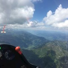 Verortung via Georeferenzierung der Kamera: Aufgenommen in der Nähe von Gemeinde Dorfgastein, 5632, Österreich in 2900 Meter