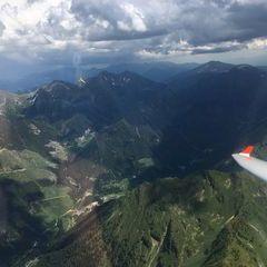 Verortung via Georeferenzierung der Kamera: Aufgenommen in der Nähe von Rottenmann, Österreich in 2700 Meter