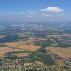 Flugwegposition um 12:28:06: Aufgenommen in der Nähe von Kreis Nagykanizsa, Ungarn in 1138 Meter