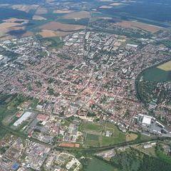 Flugwegposition um 12:36:16: Aufgenommen in der Nähe von Kreis Nagykanizsa, Ungarn in 1194 Meter