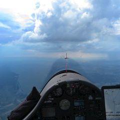 Flugwegposition um 14:54:11: Aufgenommen in der Nähe von Gemeinde Deutschkreutz, 7301, Österreich in 1617 Meter