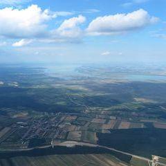 Flugwegposition um 14:54:16: Aufgenommen in der Nähe von Gemeinde Deutschkreutz, 7301, Österreich in 1668 Meter
