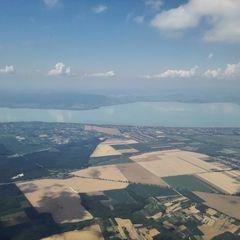 Flugwegposition um 13:16:00: Aufgenommen in der Nähe von Kreis Marcali, Ungarn in 1364 Meter