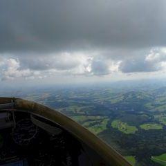 Flugwegposition um 08:14:44: Aufgenommen in der Nähe von Gemeinde Nußbach, Nußbach, Österreich in 1262 Meter