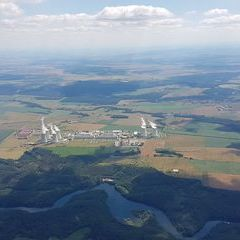 Verortung via Georeferenzierung der Kamera: Aufgenommen in der Nähe von Okres Třebíč, Tschechien in 1700 Meter