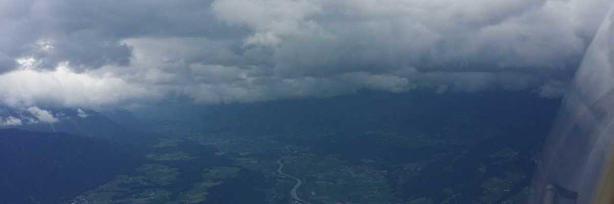 Verortung via Georeferenzierung der Kamera: Aufgenommen in der Nähe von Hall in Tirol, Österreich in 2100 Meter