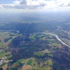 Flugwegposition um 14:27:18: Aufgenommen in der Nähe von Niederbayern, Deutschland in 1893 Meter
