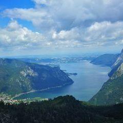 Verortung via Georeferenzierung der Kamera: Aufgenommen in der Nähe von Gemeinde Ebensee, 4802 Ebensee, Österreich in 1500 Meter