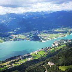 Verortung via Georeferenzierung der Kamera: Aufgenommen in der Nähe von Gemeinde St. Wolfgang im Salzkammergut, Österreich in 1600 Meter