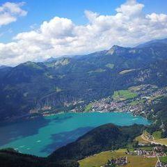 Verortung via Georeferenzierung der Kamera: Aufgenommen in der Nähe von Gemeinde St. Gilgen, Österreich in 1500 Meter