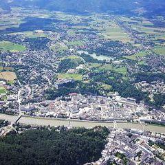 Verortung via Georeferenzierung der Kamera: Aufgenommen in der Nähe von Salzburg, Österreich in 0 Meter