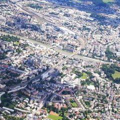 Verortung via Georeferenzierung der Kamera: Aufgenommen in der Nähe von Salzburg, Österreich in 1600 Meter