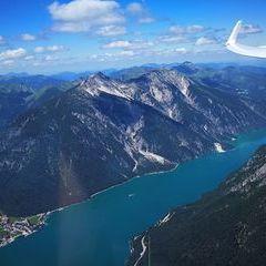 Verortung via Georeferenzierung der Kamera: Aufgenommen in der Nähe von Gemeinde Eben am Achensee, Österreich in 2300 Meter