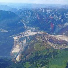 Verortung via Georeferenzierung der Kamera: Aufgenommen in der Nähe von Gai, 8793, Österreich in 3100 Meter