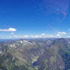 Verortung via Georeferenzierung der Kamera: Aufgenommen in der Nähe von Gemeinde Haus, Österreich in 2000 Meter