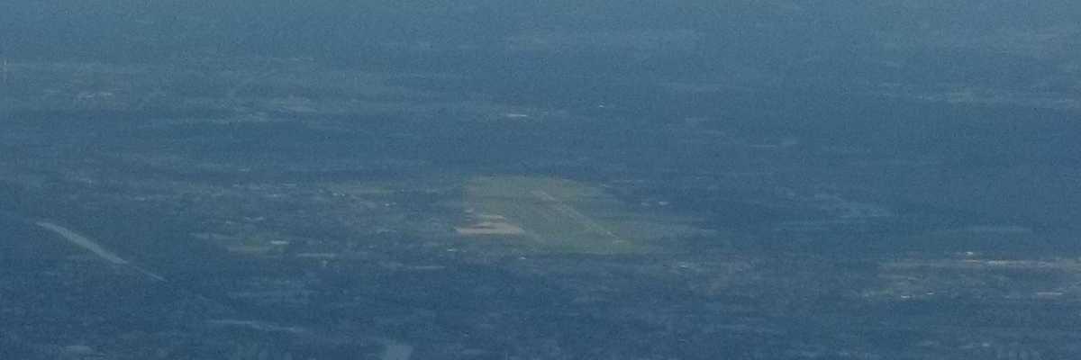 Flugwegposition um 13:29:20: Aufgenommen in der Nähe von Eisenerz, Österreich in 1895 Meter