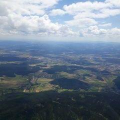 Verortung via Georeferenzierung der Kamera: Aufgenommen in der Nähe von Gemeinde Würflach, 2732, Österreich in 1800 Meter