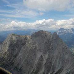Flugwegposition um 10:21:46: Aufgenommen in der Nähe von St. Ilgen, 8621 St. Ilgen, Österreich in 1942 Meter