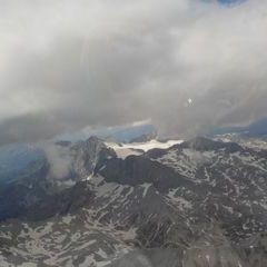 Flugwegposition um 11:39:41: Aufgenommen in der Nähe von Gemeinde Spital am Pyhrn, 4582, Österreich in 2376 Meter