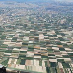 Flugwegposition um 13:21:43: Aufgenommen in der Nähe von 67051 Avezzano, L'Aquila, Italien in 2414 Meter